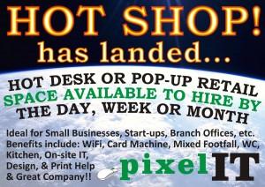 Hot Shop Poster